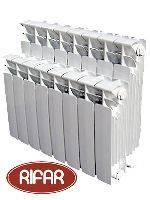 Биметаллический радиатор отопления Рифар base 350 4 секции