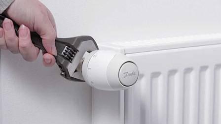 Установка радиаторов отопления